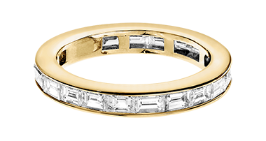 Memory Ring Nizza Gelbgold