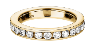Memoire Ring Gelbgold