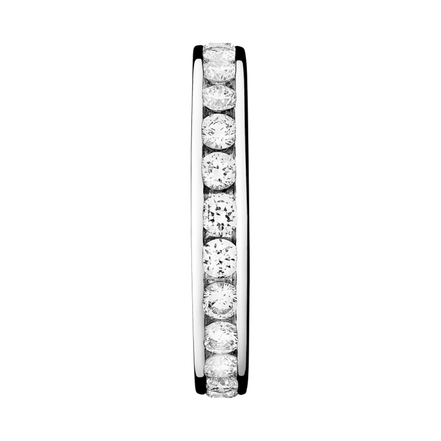 Eternity Ring Amsterdam G VS in White Gold