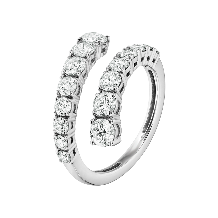Eternity Ring Cambridge in White Gold