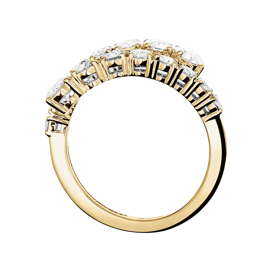 Eternity Ring Cambridge in Yellow Gold