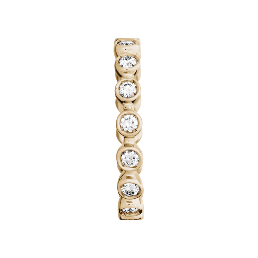 Eternity Ring Faro G VS in Rose Gold
