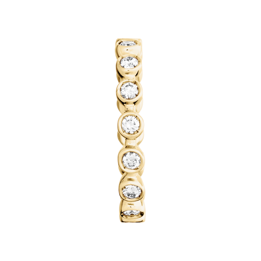 Eternity Ring Faro G VS in Yellow Gold