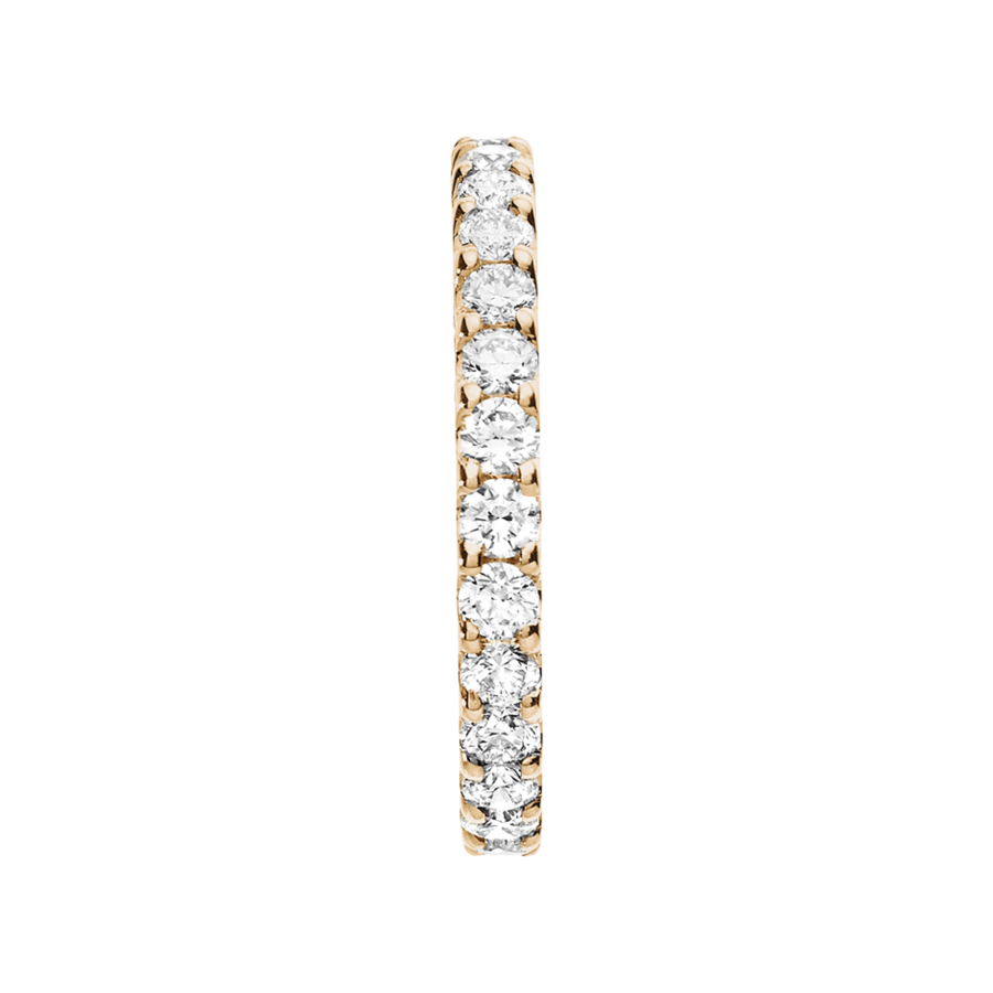 Eternity Ring Hamburg G VS in Rose Gold