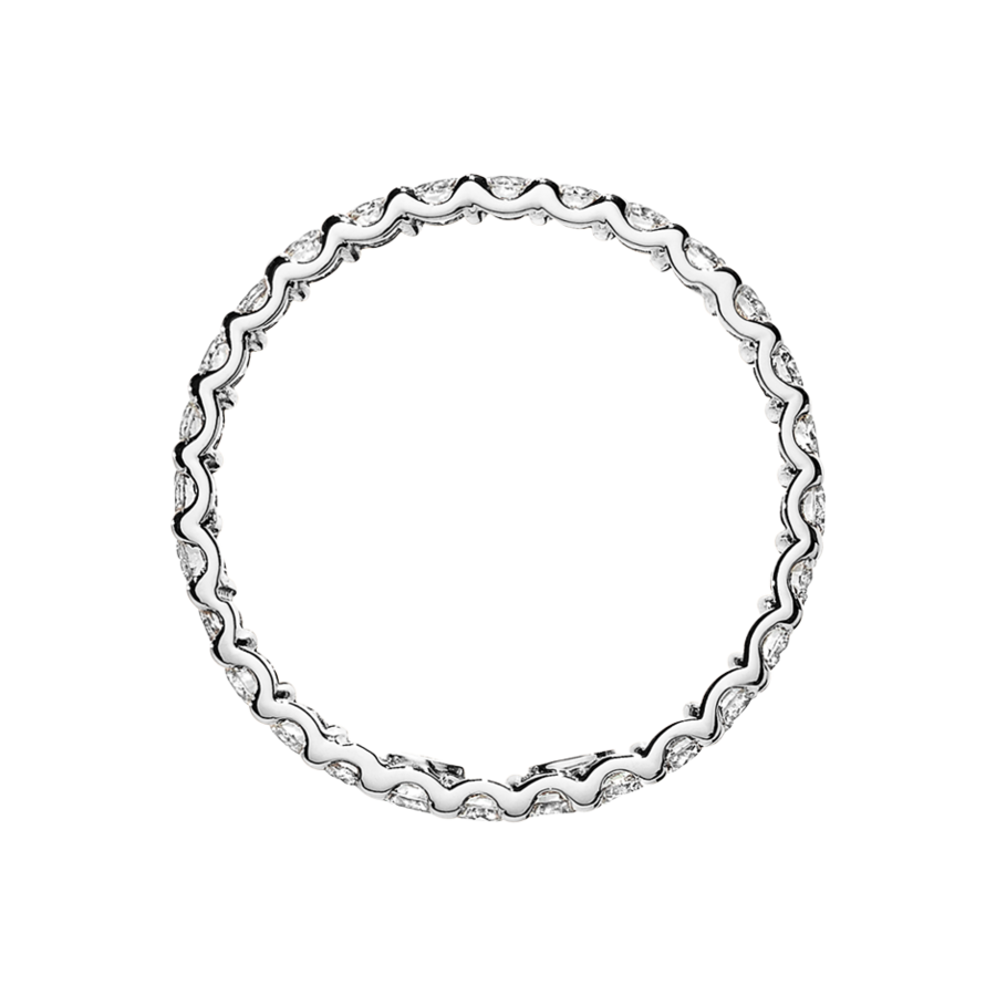 Eternity Ring Hamburg G VS in White Gold