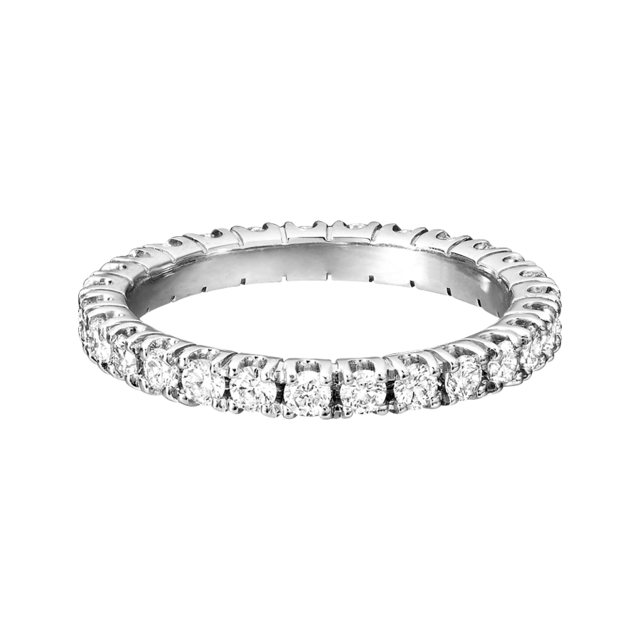 Eternity Ring Stockholm G VS in White Gold