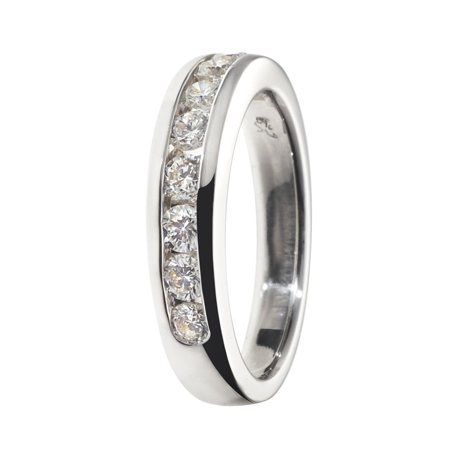 Eternity Ring Tallinn H SI in White Gold