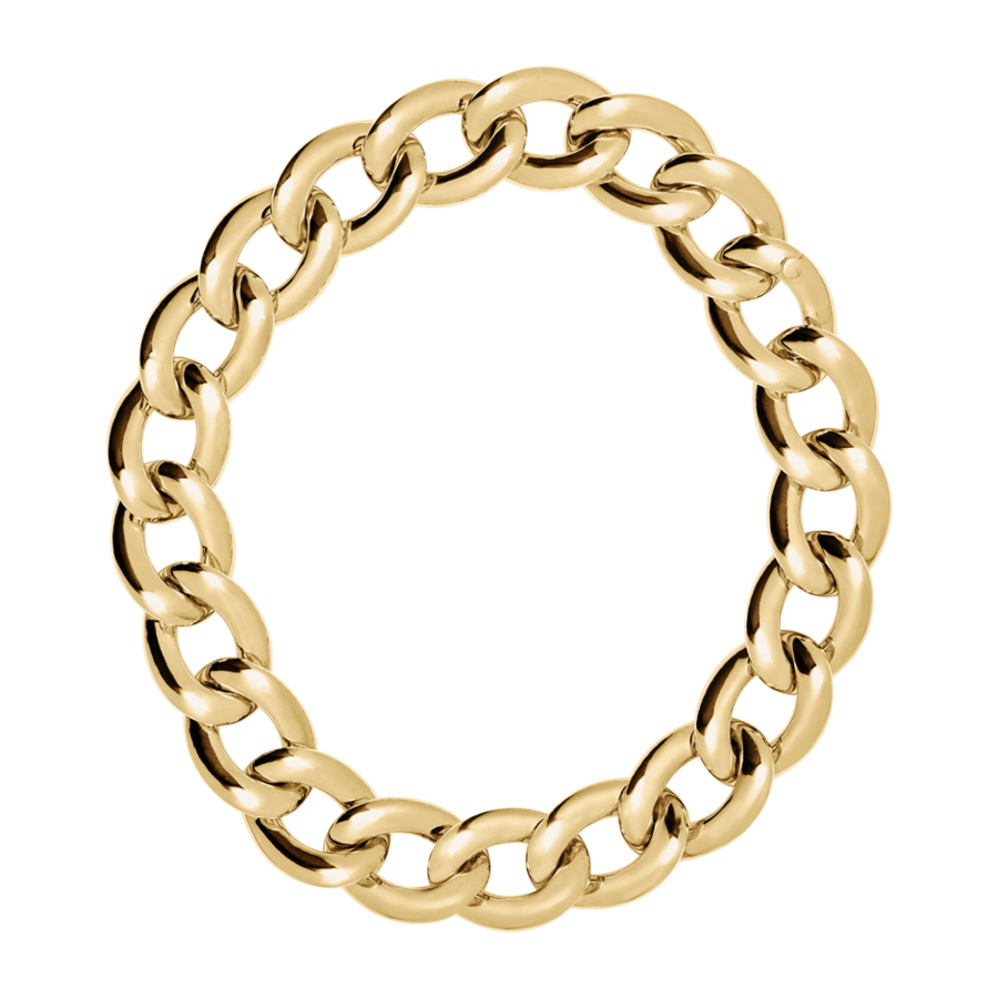 Goldkette in Gelbgold