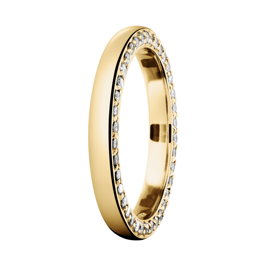 Memoire Ring Bologna in Gelbgold