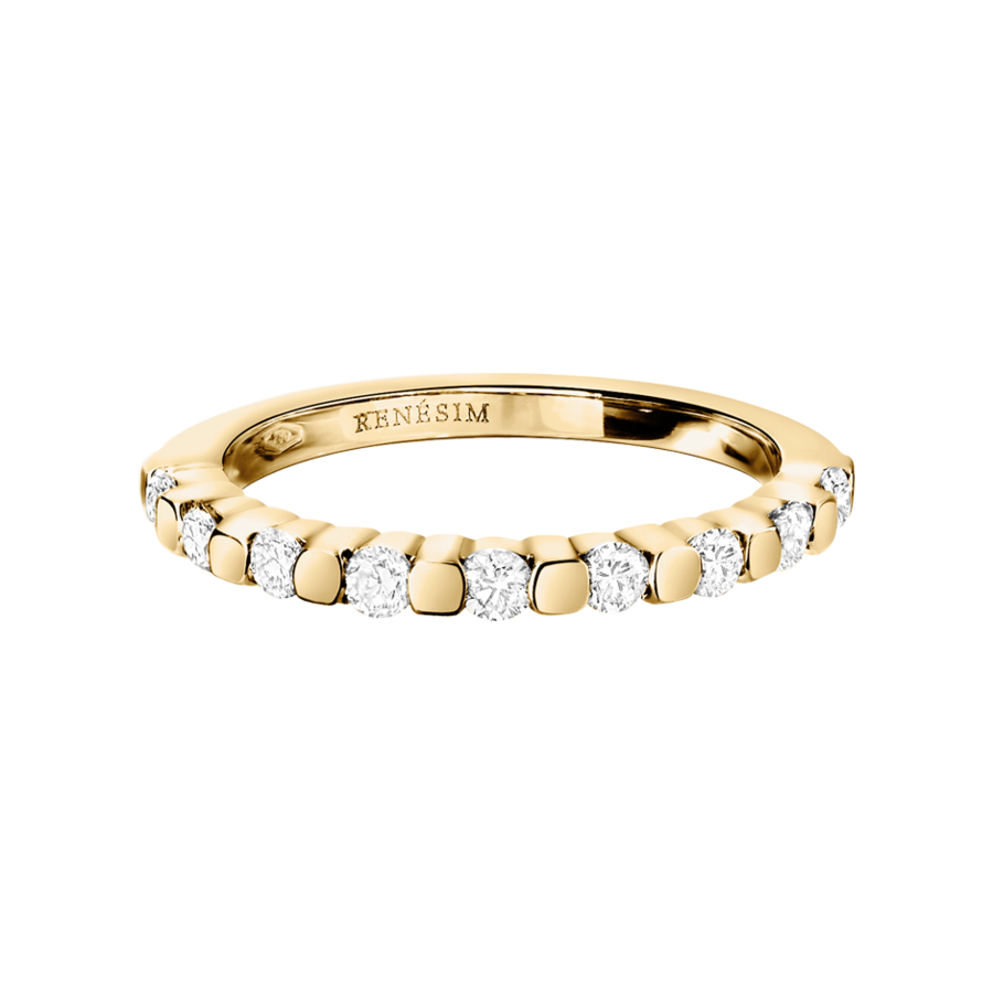 Memoire Ring Knokke G VS in Gelbgold