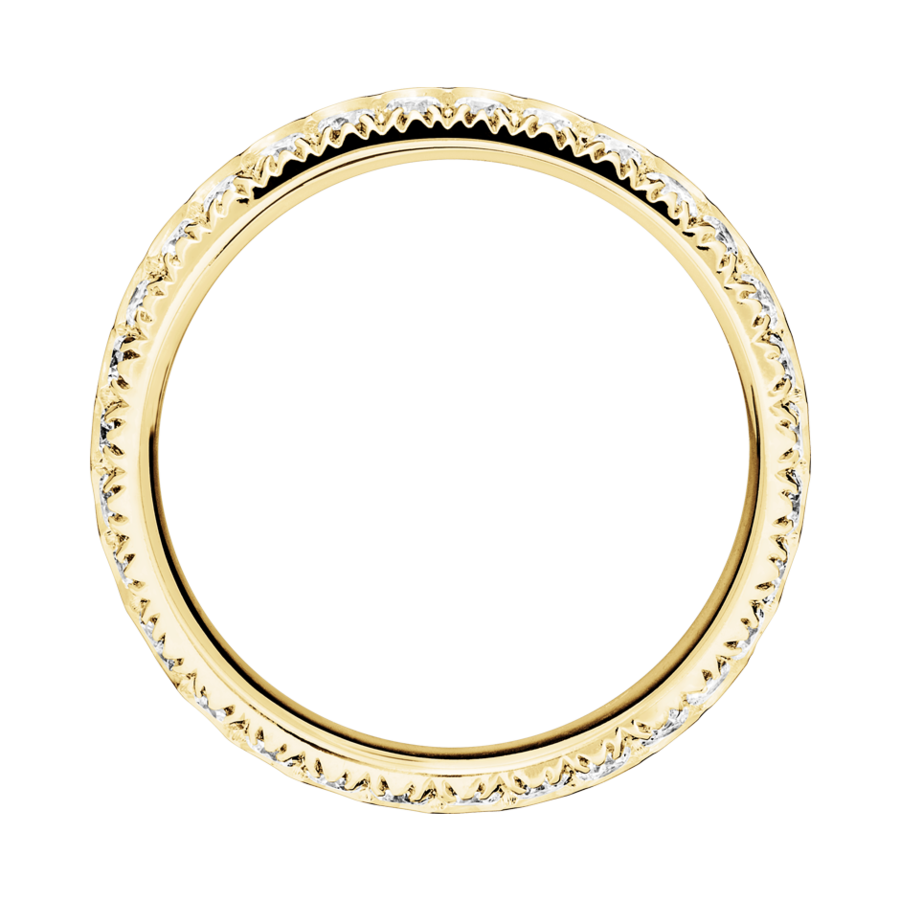 Memoire Ring Oxford G VS in Gelbgold