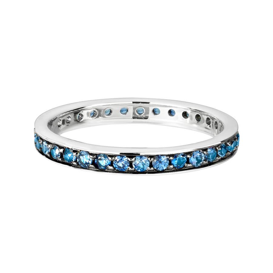 Romance Eternity Ring in White Gold