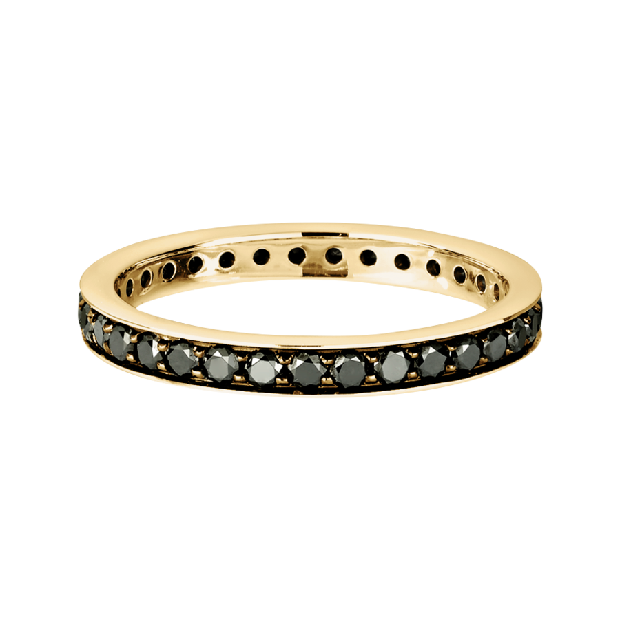 Romance Memoire Ring in Gelbgold
