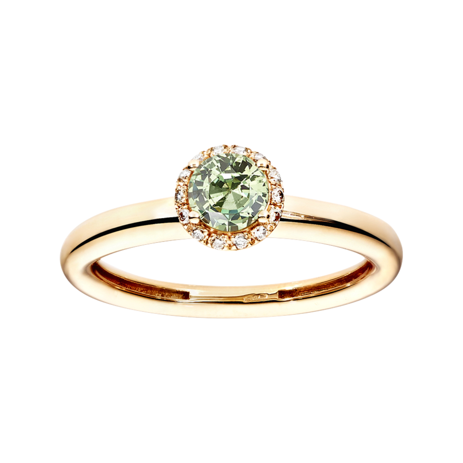 Romance Ring in Rose Gold
