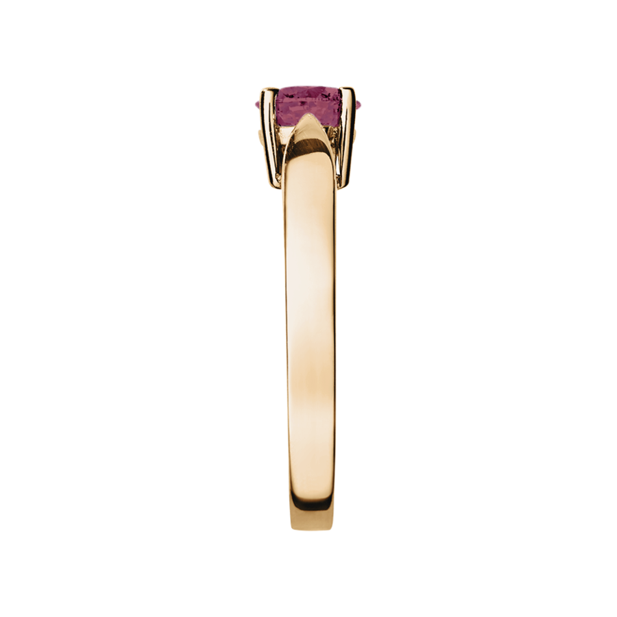 Vancouver Tourmaline pink in Rose Gold