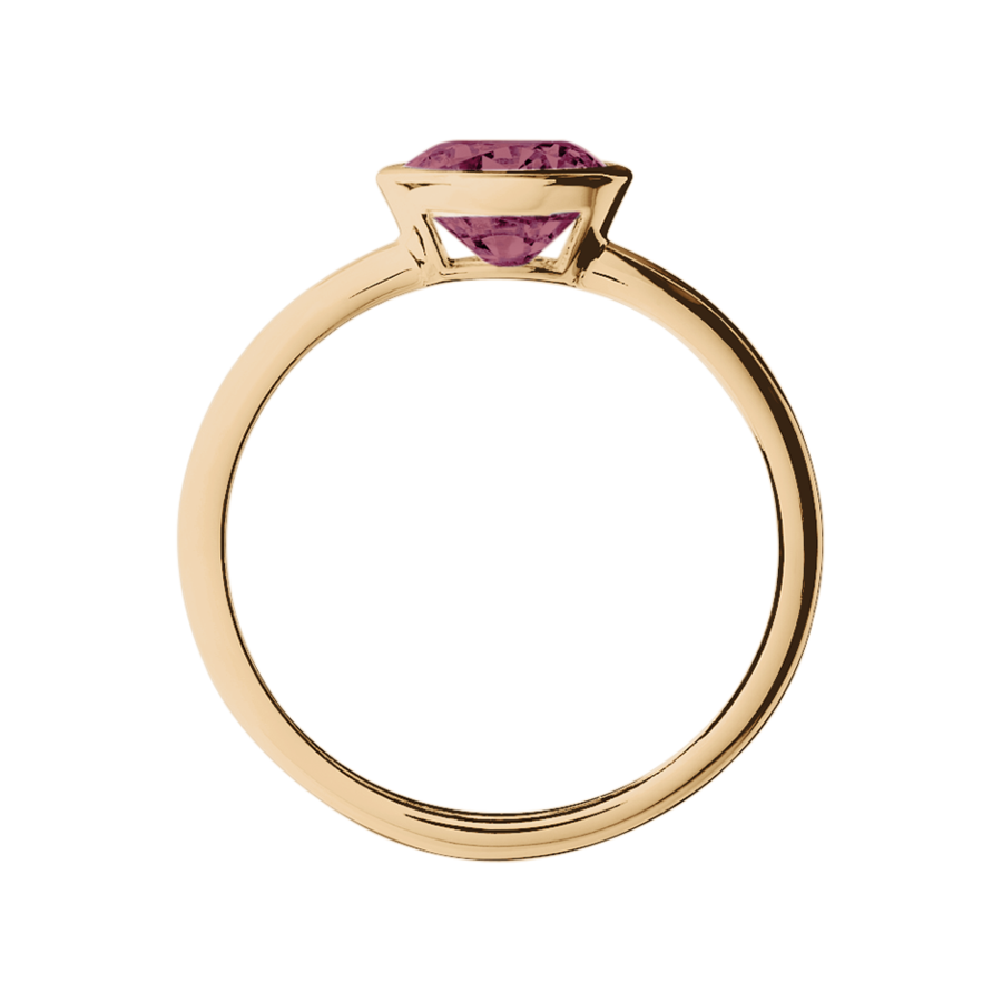 Vienna Tourmaline pink in Rose Gold