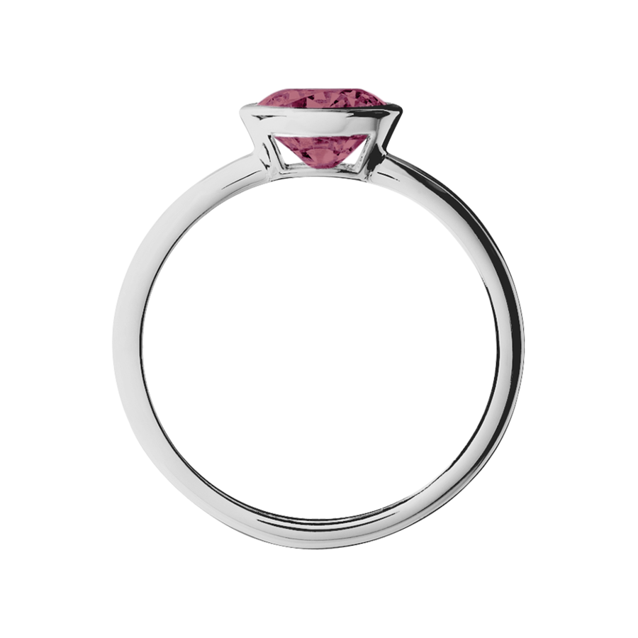 Vienna Tourmaline pink in White Gold