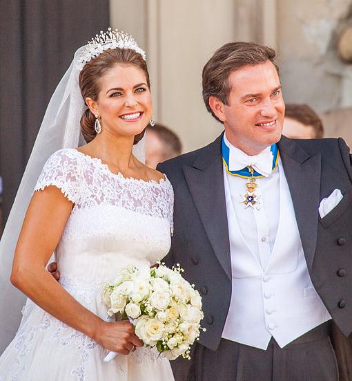 Brautschmuck ohrringe schlicht  Prinzessin Madeleines Brautschmuck | RENÉSIM | RENÉSIM Blog