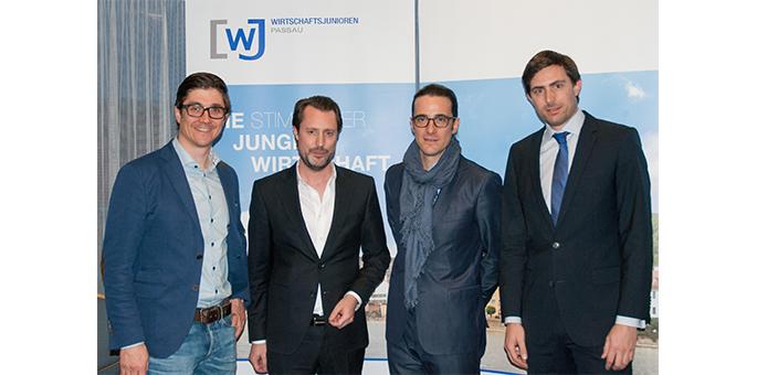 Unternehmensgespräch bei den Wirtschaftsjunioren an der IHK Passau