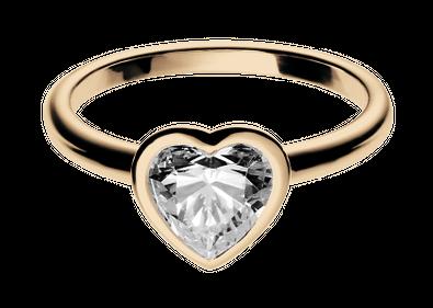 Diamantring herz gold  Verlobungsringe mit Herz – Im Stil von Lady Gaga | RENÉSIM ...