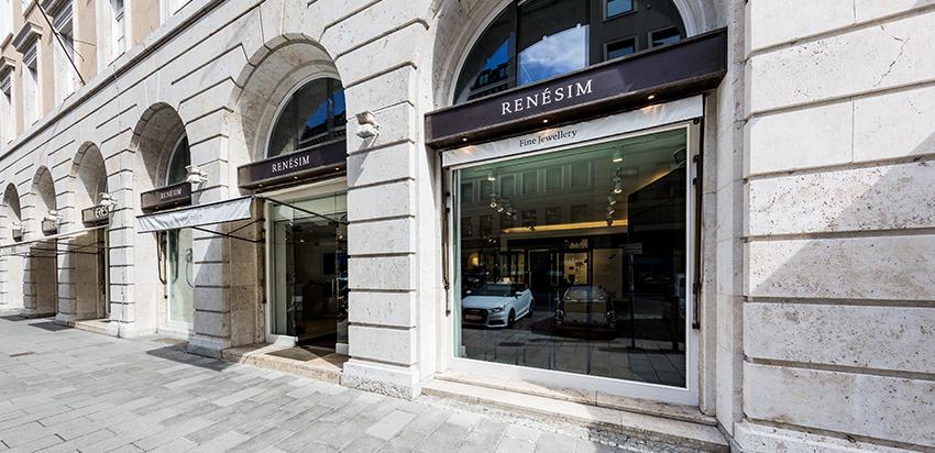 RENÉSIM Store in München