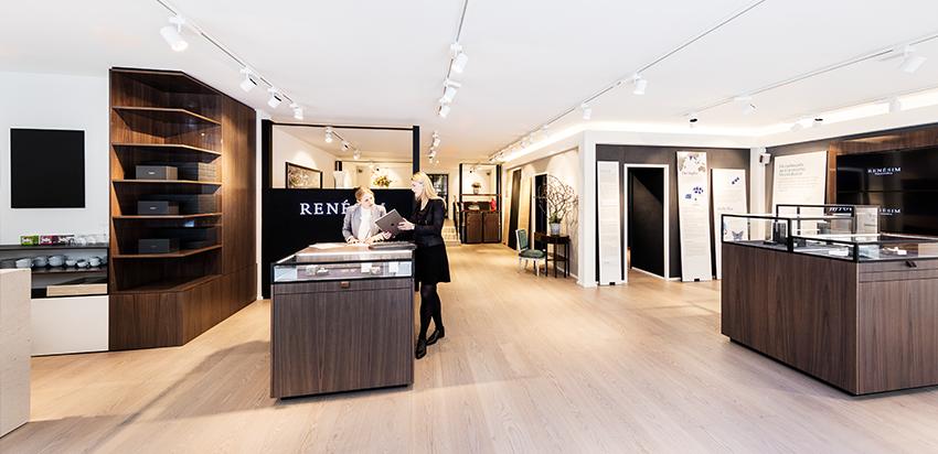 RENÉSIM Store Brienner Quartier