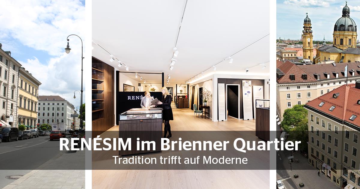 RENÉSIM im Brienner Quartier – Tradition trifft auf Moderne