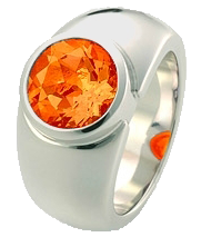 Pure Ring Feueropal orange