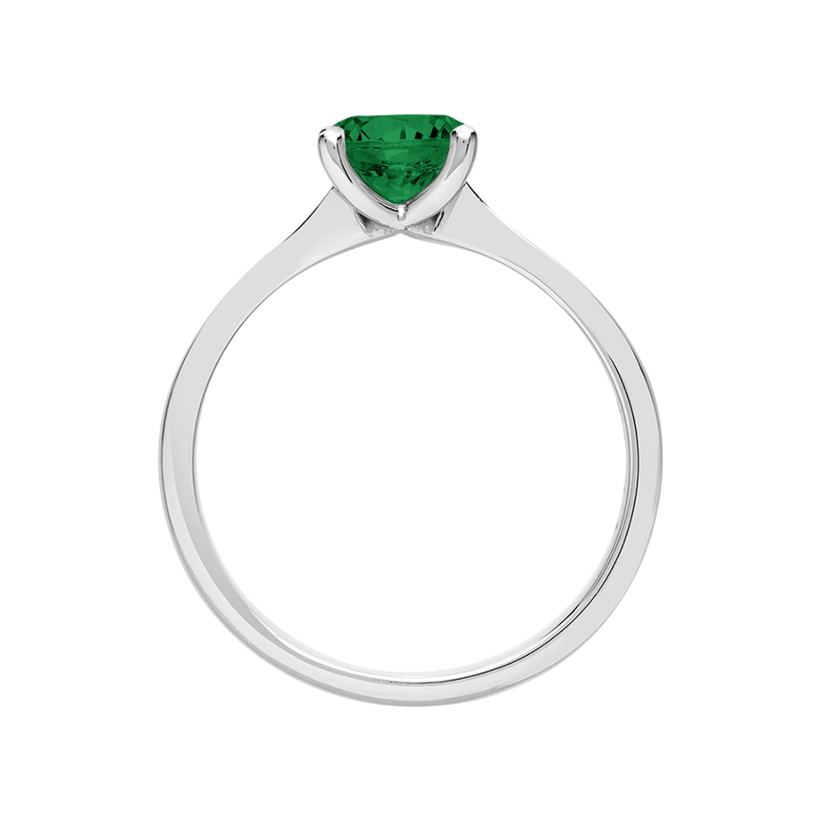 Basel Emerald green in Platinum