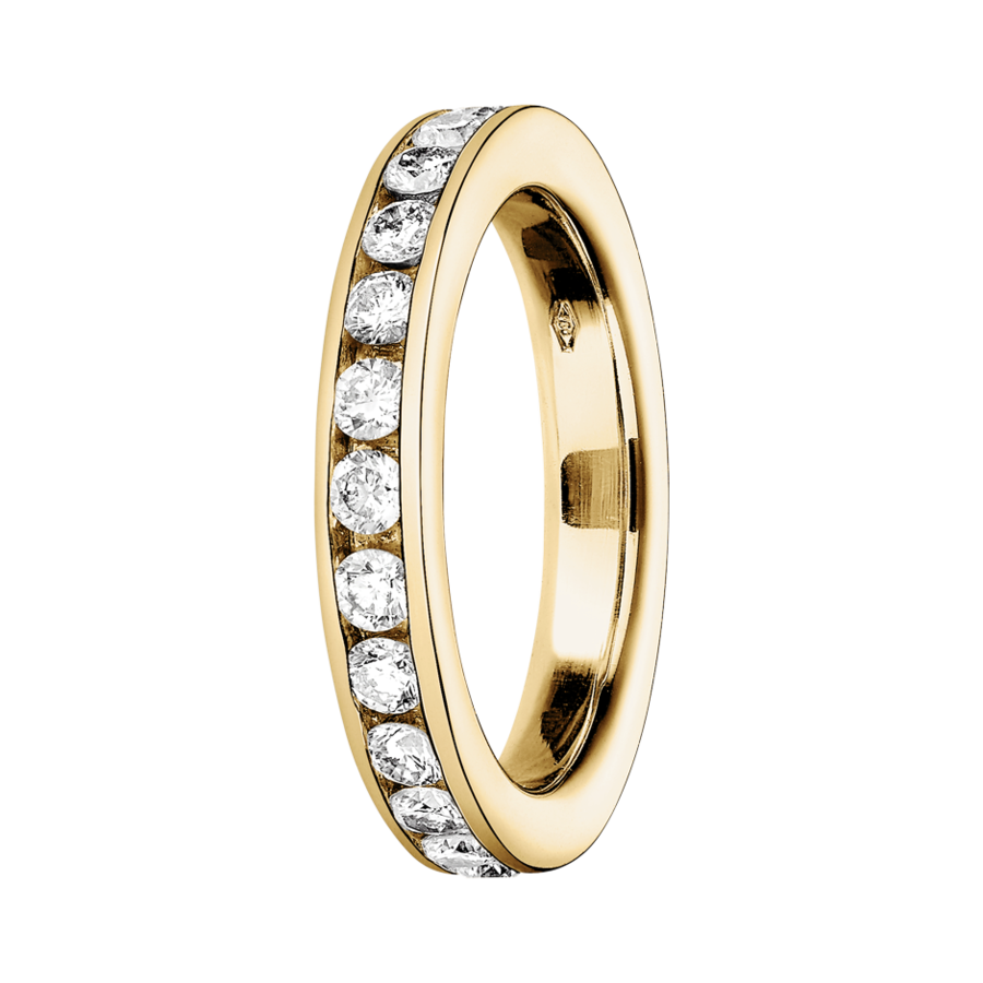 Eternity Ring Bergen G VS in Yellow Gold