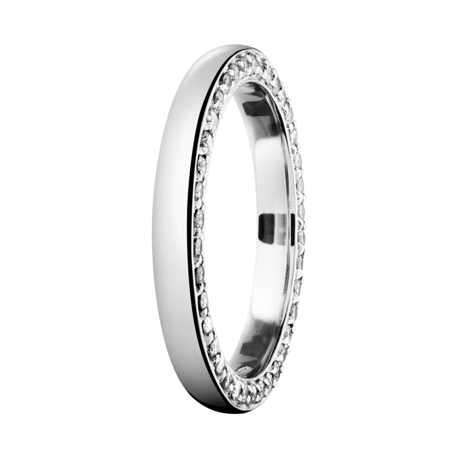 Eternity Ring Bologna in Platinum
