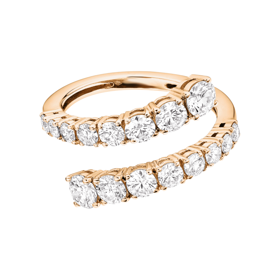 Eternity Ring Cambridge in Rose Gold