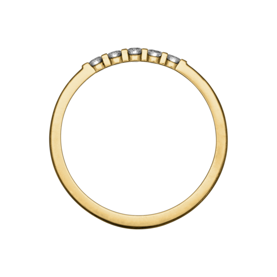 Eternity Ring Rotterdam G VS in Yellow Gold