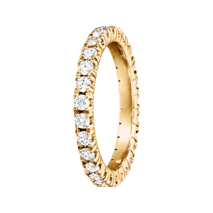 Eternity Ring Stockholm H SI in Yellow Gold