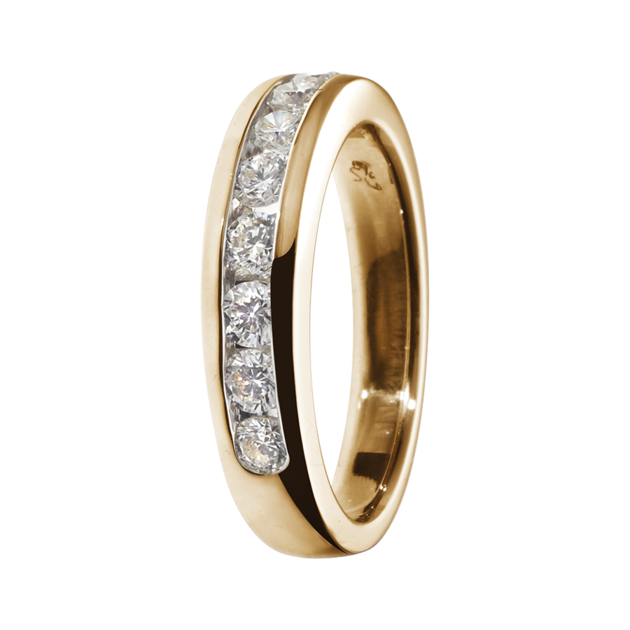 Eternity Ring Tallinn G VS in Rose Gold
