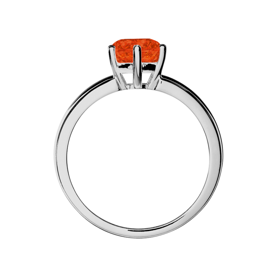Malmö Fire Opal orange in Platinum