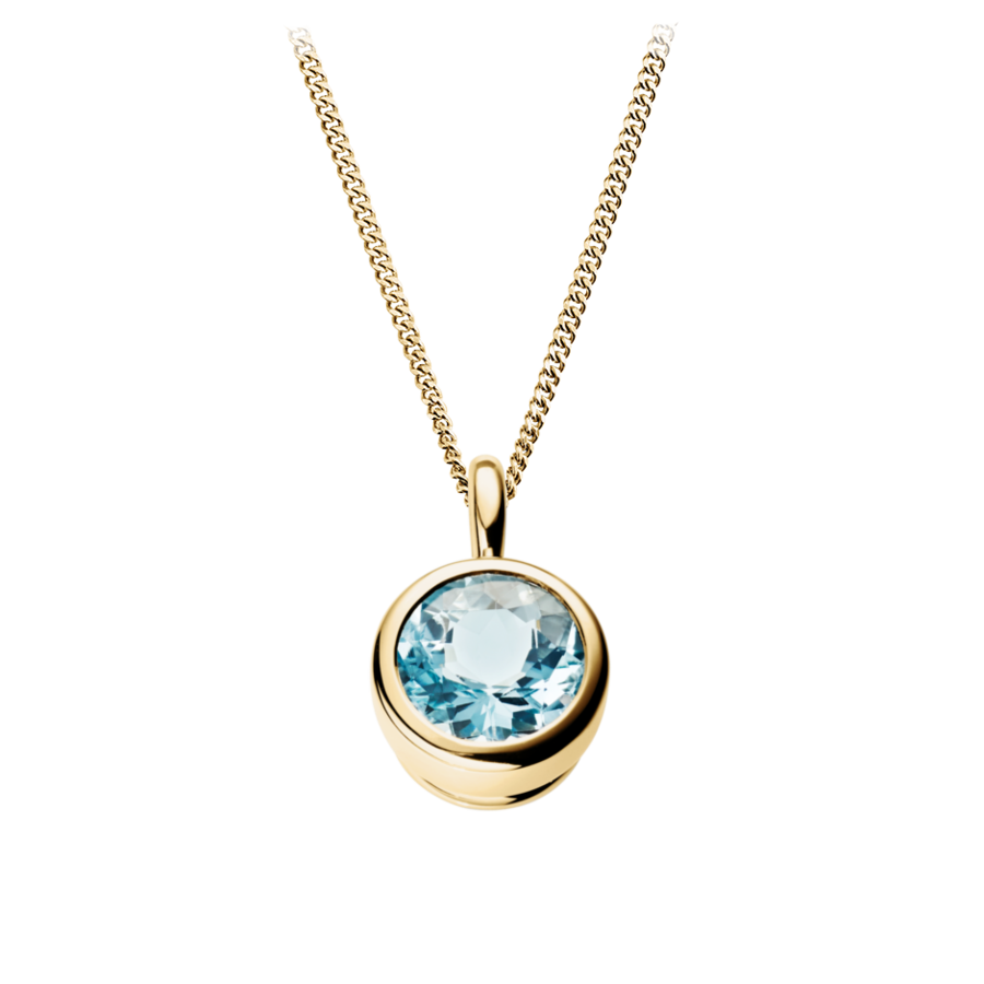 Pure Pendant in Yellow Gold