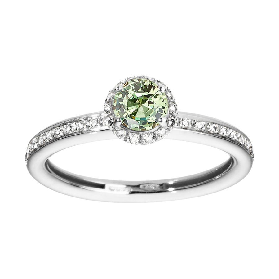 Ring Romance in Weißgold