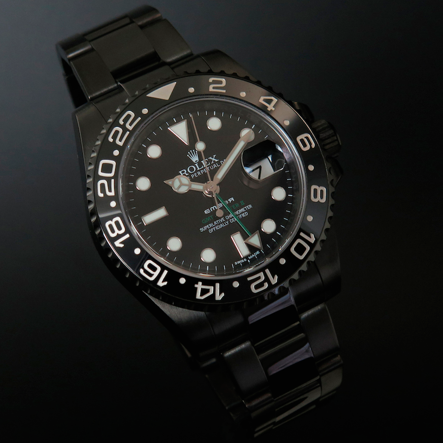 Rolex GMT Master II Black Individual in Oyster Casing