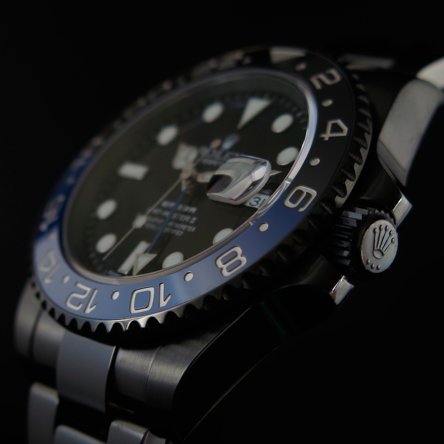 Rolex GMT Master II Blue Individual in Oyster Casing