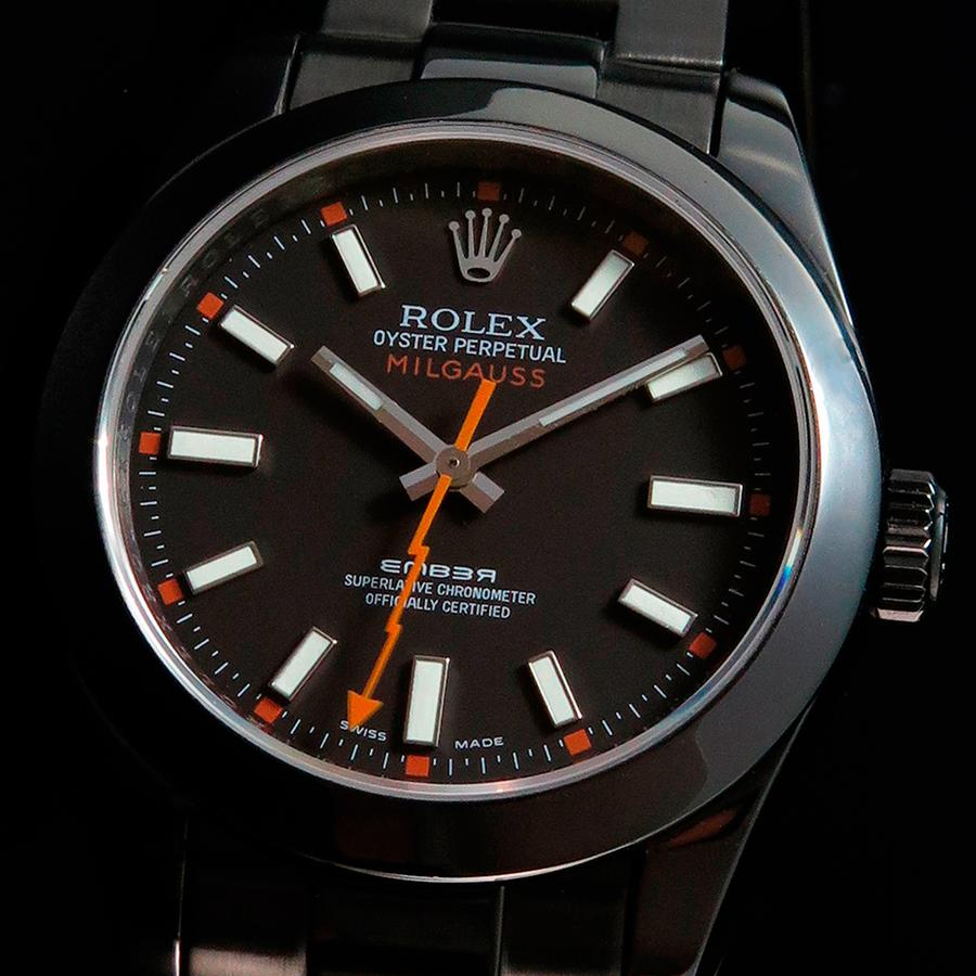 Rolex Milgauss Date Individual in Oyster Casing