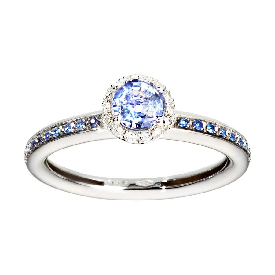 Romance Ring in White Gold