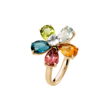 Flowers Ring klein in Roségold