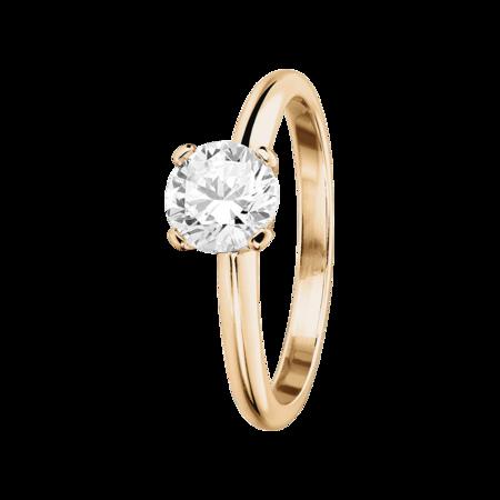 Verlobungsringe Rosegold Mit Diamant