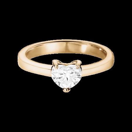 Verlobungsringe Mit Herz Diamanten Gia Zertifiziert