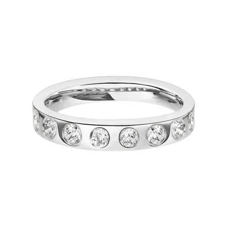 Eternity Ring Helsinki in Platinum