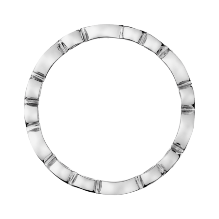 Eternity Ring Porto Cervo in White Gold
