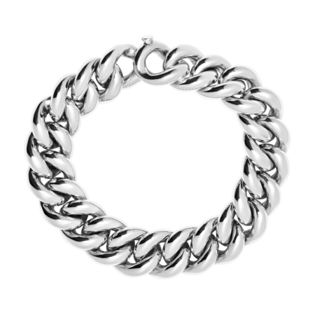 Gold Bracelet II in White Gold