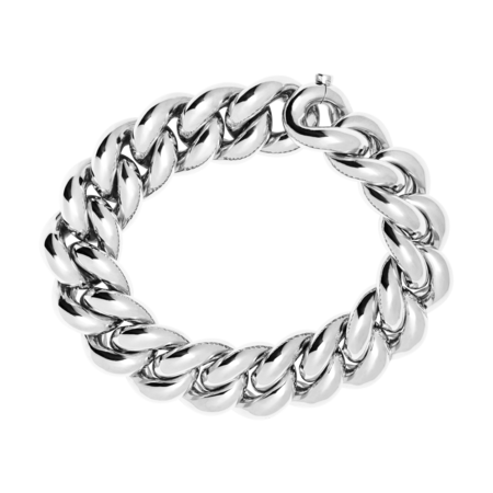 Gold Bracelet IV in White Gold