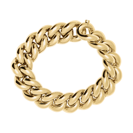 Gold Bracelet IV in Yellow Gold
